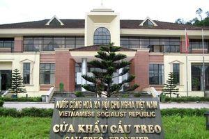 Chủ trương điều chỉnh Quy hoạch chung KKT cửa khẩu Cầu Treo