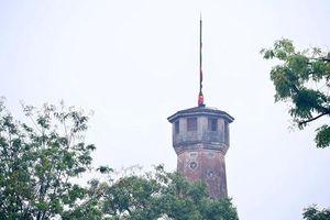 Hà Nội để cờ rủ 2 ngày Quốc tang nguyên Chủ tịch nước Lê Đức Anh