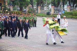 Lễ viếng nguyên Chủ tịch nước, đại tướng Lê Đức Anh tại Thừa Thiên - Huế