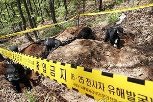 Hàn Quốc phát hiện hơn 92 mảnh xương trong khu phi quân sự