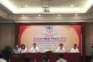 550 gian hàng tham gia Triển lãm Quốc tế chuyên ngành Y Dược Việt Nam
