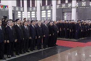 Lễ viếng, lễ truy điệu nguyên Chủ tịch nước Lê Đức Anh