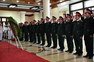 Thừa Thiên Huế tổ chức lễ viếng nguyên Chủ tịch nước Lê Đức Anh
