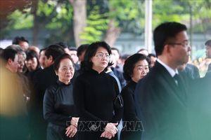 Những hình ảnh đầu tiên tại Lễ Quốc tang nguyên Chủ tịch nước Lê Đức Anh