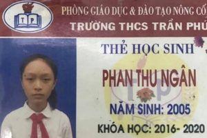 Một nữ sinh lớp 8 ở Thanh Hóa mất tích bí ẩn