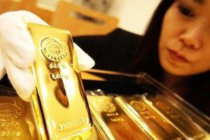 Giá vàng thị trường châu Á trụ gần mức 'đáy' của bốn tháng