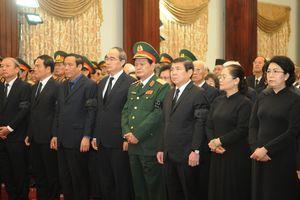 Những hình ảnh đầu tiên Lễ viếng nguyên Chủ tịch nước Lê Đức Anh tại TP Hồ Chí Minh