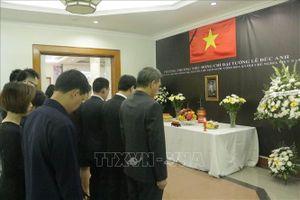 Lễ viếng và mở sổ tang nguyên Chủ tịch nước Lê Đức Anh tại Indonesia và Australia