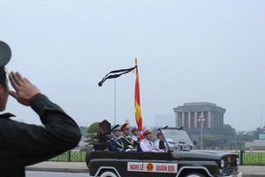 Cử hành trọng thể lễ Quốc tang nguyên Chủ tịch nước Lê Đức Anh