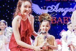 Cô bé hạt tiêu Bùi Bảo Ngọc giành giải Á quân Angel Baby