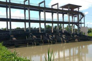 Ba Tri (Bến Tre): Điều tiết nước bất cập, thiệt hại kinh tế người dân