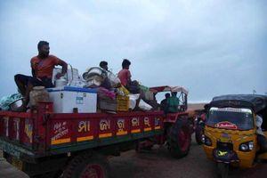 Ấn Độ sơ tán 1,2 triệu người khi bão đe dọa bờ biển phía Đông