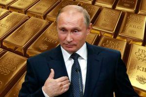 Nga mạnh tay mua vàng dự trữ, thách thức lệnh trừng phạt của Mỹ