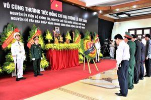 Lãnh đạo, nhân dân các tỉnh miền Trung viếng nguyên Chủ tịch nước, Đại tướng Lê Đức Anh