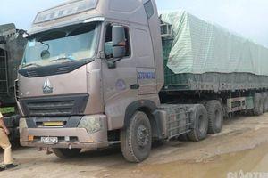 Bắt giữ xe chở xi măng Thành Thắng quá tải trên 200%
