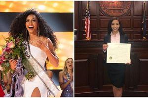 Nữ Luật sư có thân hình 6 múi đăng quang Hoa hậu Mỹ 2019