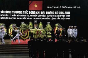 Lễ viếng nguyên Chủ tịch nước, Đại tướng Lê Đức Anh