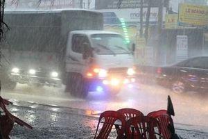 Các tỉnh miền Tây liên tục có mưa giải nhiệt