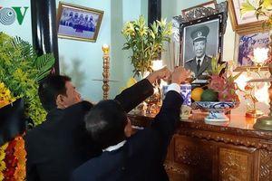 Lễ viếng nguyên Chủ tịch nước Lê Đức Anh tại quê nhà Thừa Thiên-Huế