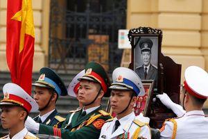 Báo chí Trung Đông đưa tin lễ tang nguyên Chủ tịch nước Lê Đức Anh