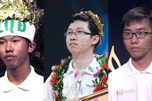 Ba nam sinh đạt số điểm kỷ lục Đường lên đỉnh Olympia trong 19 năm là ai?