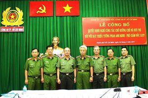 Bổ nhiệm người thay thế vị trí tướng Phan Anh Minh