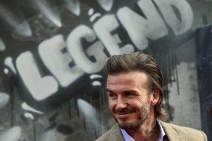 David Beckham - một tác phẩm nghệ thuật của làng túc cầu