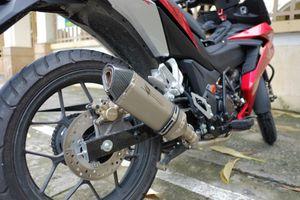 Ống xả Honda Winner phát ra tiếng nổ và cách xử lý