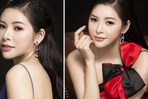 Á hậu Hoàng Dung diện váy xẻ cao tới hông, khoe nhan sắc đẹp không tỳ vết