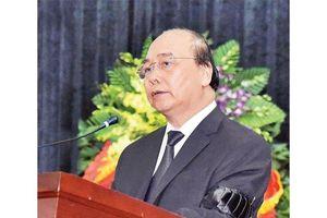 Lời điếu do Thủ tướng Chính phủ Nguyễn Xuân Phúc đọc tại lễ truy điệu đồng chí Lê Đức Anh