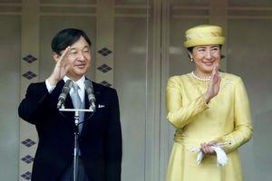 Tân Nhật hoàng lần đầu phát biểu trước công chúng