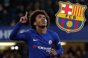 Chiêu mộ ngôi sao Willian, Barcelona 'ép giá' kịch liệt Chelsea