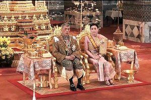 Các nghi thức trong lễ đăng quang của tân vương Thái Lan