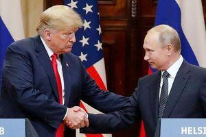 Ông Trump và ông Putin thảo luận hiệp ước hạt nhân mới có sự tham gia của Trung Quốc