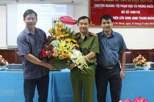 Đại tá thay thế vị trí của Thiếu tướng Phan Anh Minh là ai?