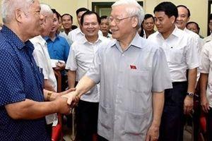 Cử tri mong Tổng Bí thư, Chủ tịch nước Nguyễn Phú Trọng mau bình phục
