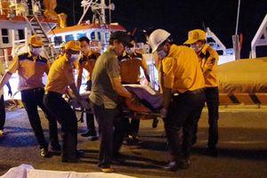 Tiếp nhận thi thể thuyền viên nước ngoài bị nạn trên biển