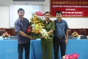 Đại tá Đinh Thanh Nhàn làm Thủ tưởng Cơ quan cảnh sát điều tra Công an TP. HCM