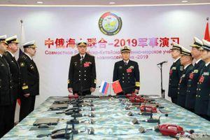 Trung Quốc và Nga kết thúc tập trận chung trên biển