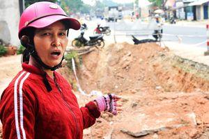 Dân Quảng Ngãi khốn khổ vì 'hố tử thần' ven quốc lộ 1