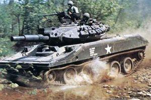 Xe tăng hạng nhẹ ít thấy của Mỹ trong CT Việt Nam