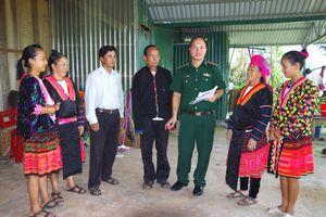 Phong phú các biện pháp tuyên truyền pháp luật ở khu vực biên giới Điện Biên