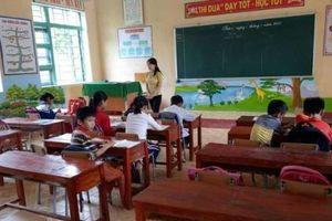 Trường tiểu học Đồng Lương (Thanh Hóa): Rất nhiều học sinh vẫn chưa dám đến lớp