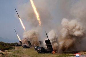 Triều Tiên xác nhận diễn tập tấn công bằng tên lửa đạn đạo