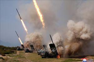Bộ Quốc phòng Hàn Quốc: Triều Tiên phóng vũ khí dẫn đường chiến thuật mới