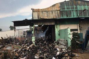 Vụ cháy kho chứa tài liệu xe buýt ở TP.HCM không thiệt hại đáng kể