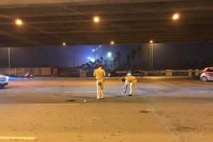 Tài xế ô tô biển xanh tông lái xe ôm ngã bất tỉnh trên đường rồi tăng ga bỏ chạy đã ra công an trình diện