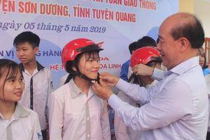 Phát động xây dựng Xã An toàn giao thông đầu tiên ở Tuyên Quang
