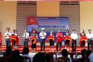 Triển lãm bản đồ và trưng bày tư liệu 'Hoàng Sa, Trường Sa của Việt Nam – Những bằng chứng lịch sử'