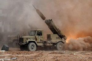 Quân đội Syria đánh phá ác liệt Bắc Lattakia bằng rocket tự chế Golan